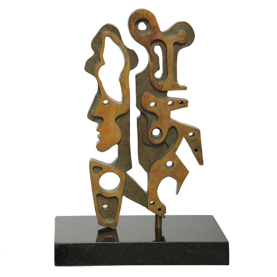 Anthony quinn woman with a past maquette at 1stdibs for Maquette stand