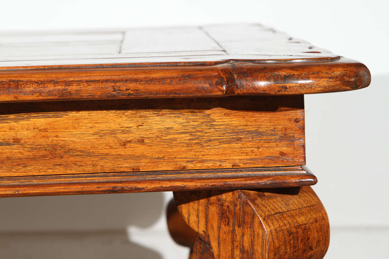 French provencial handcrafted wooden coffee table for sale at 1stdibs Handcrafted coffee table