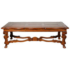 French Provencial Handcrafted Wooden Coffee Table