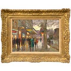 Manner Edward Cortes a Paris Street Scene
