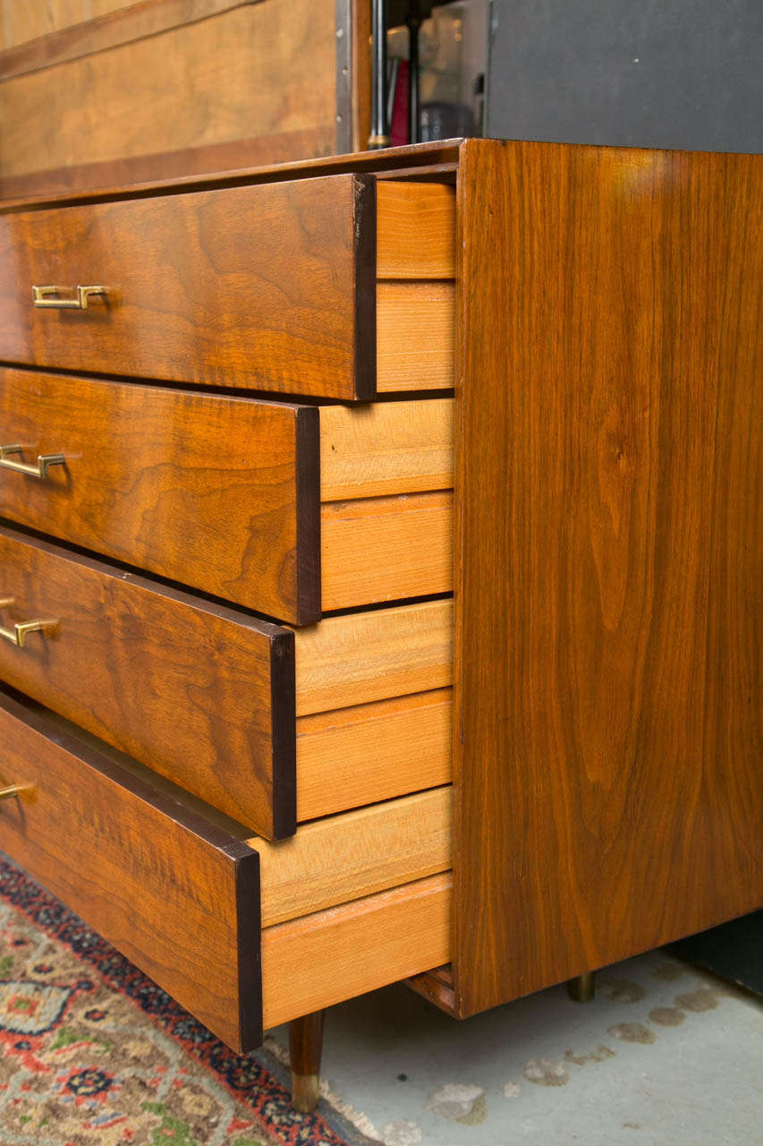 Mid Century Modern Rosewood Danish Dresser At 1stdibs