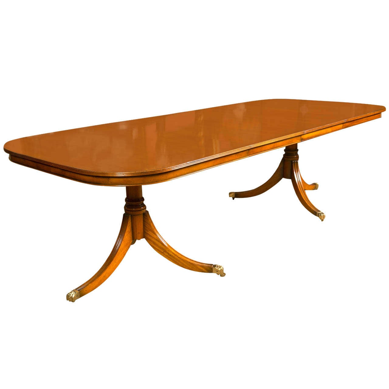 Charles Barr Dining Table With Two Leaves At 1stdibs