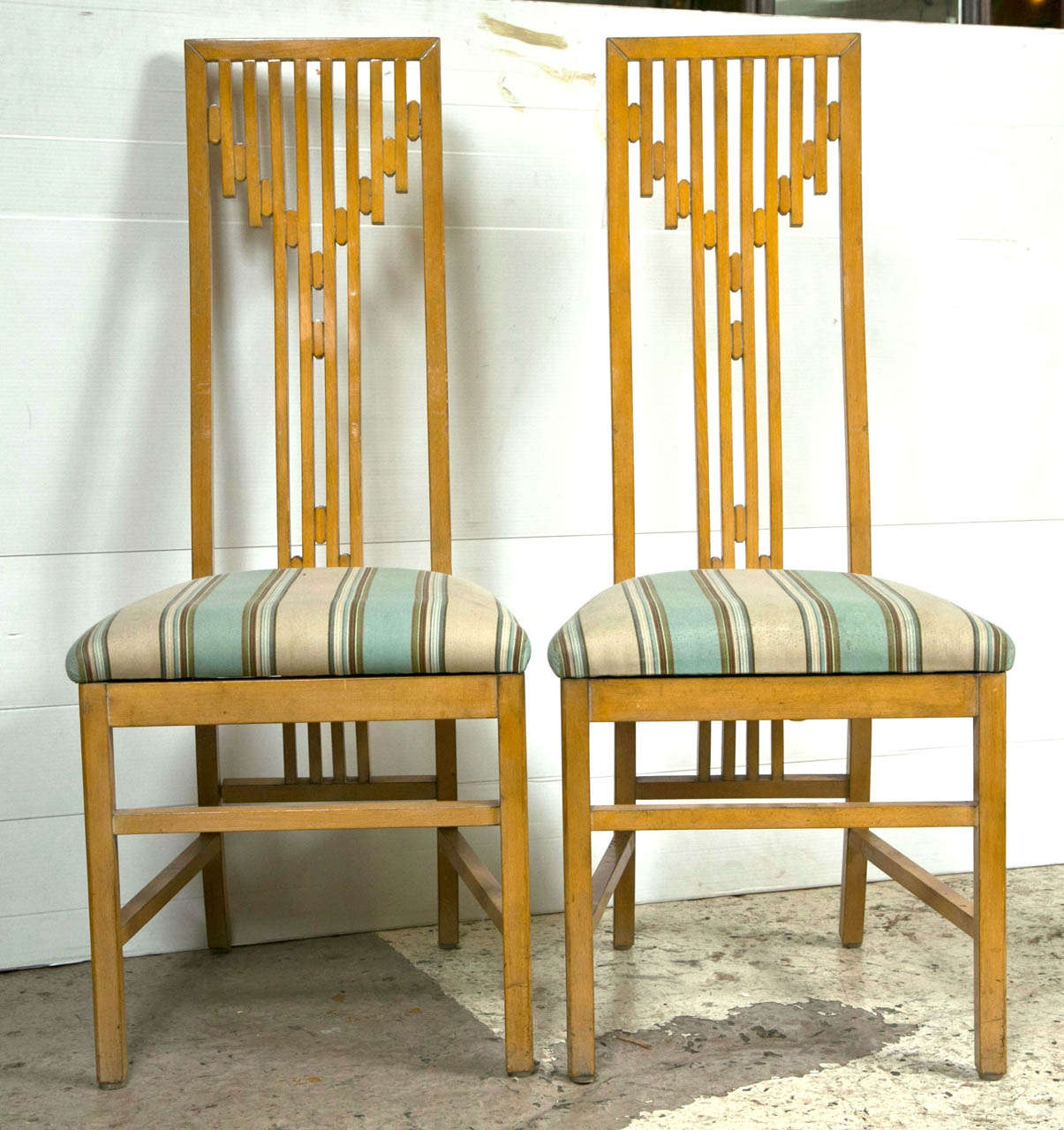 Set of 6 arts and crafts style dining chairs style of james mont at 1stdibs - Arts and crafts dining room furniture ...