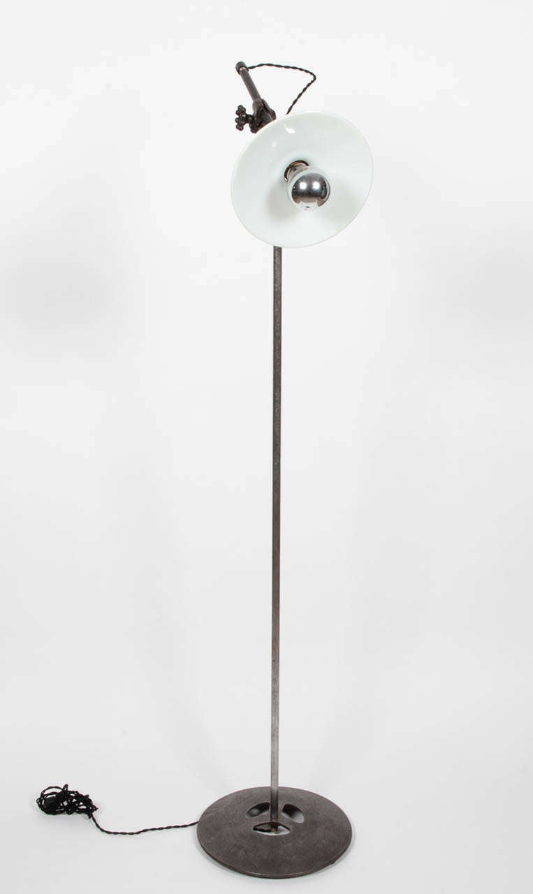 Antique Industrial Floor Lamp By O C White For Sale At