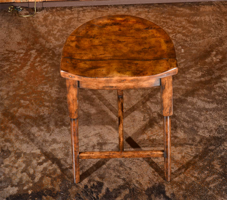Saddle Seat Bar Stool At 1stdibs