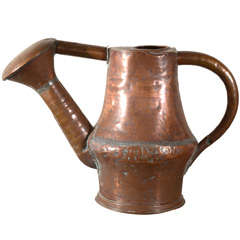 18th c.Primitive Copper Watering Can