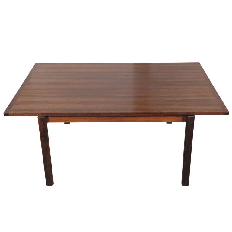 1960 39 s swedish jakaranda wood coffee table at 1stdibs for Coffee tables 80cm wide