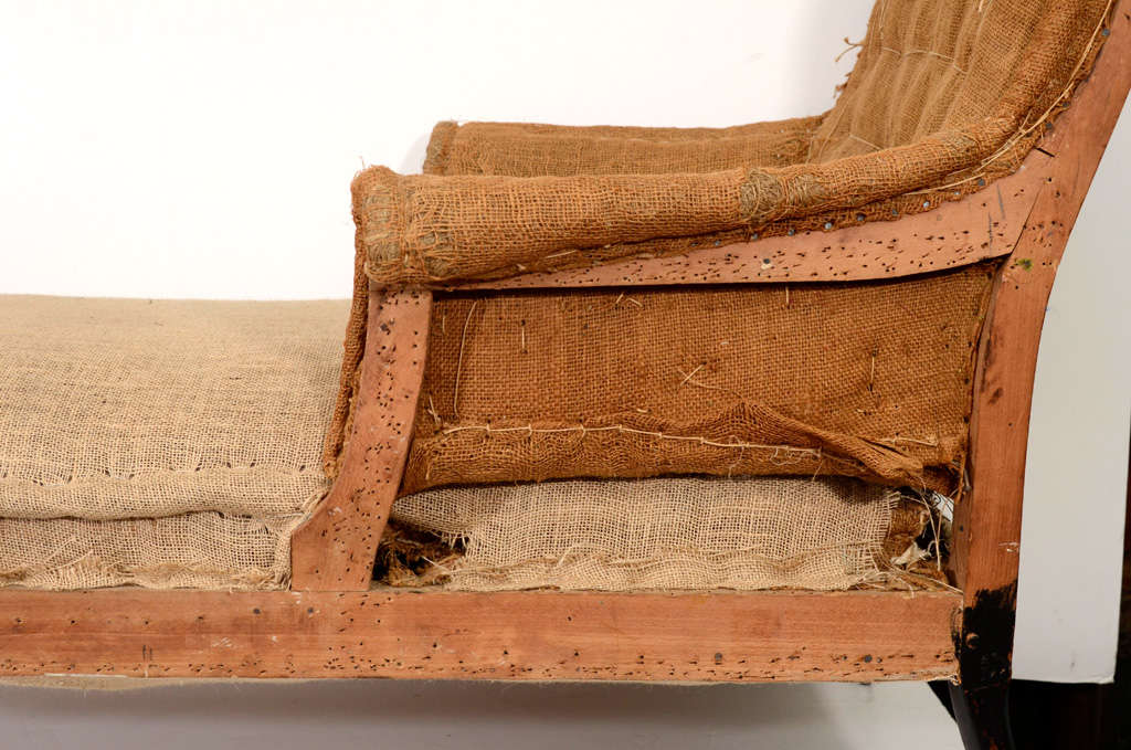 French 1930s ripped chaise longue at 1stdibs for Chaise 1930
