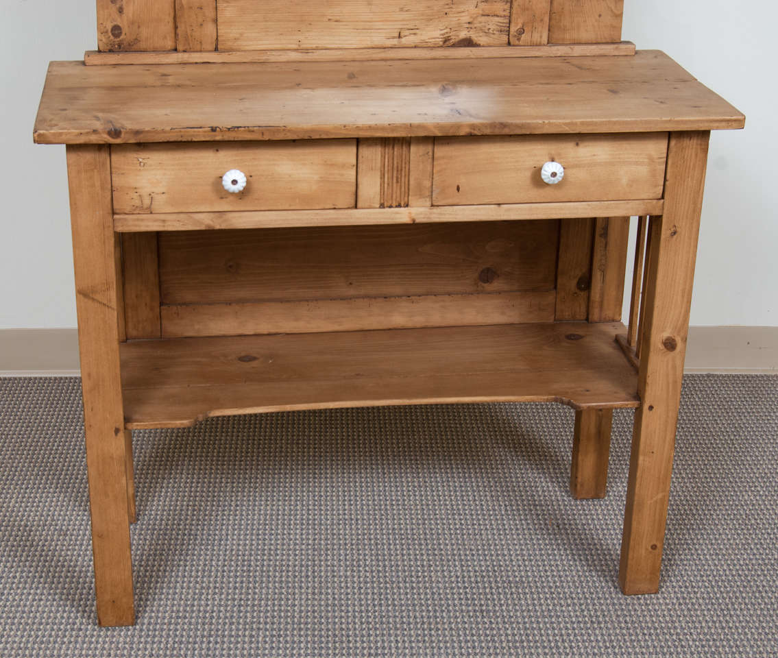 Pine Dressing Table ~ Pine dressing table at stdibs