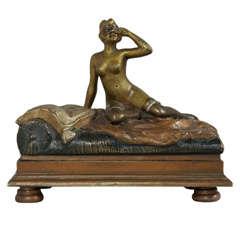 Erotic Austrian Bronze