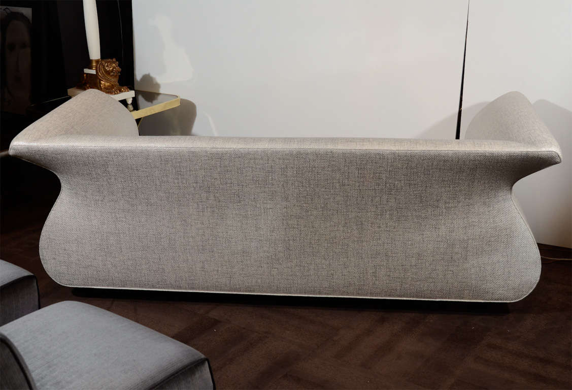 Dialogica Hollywood Regency Sofa Designed by Sergio Savarese For Sale 2