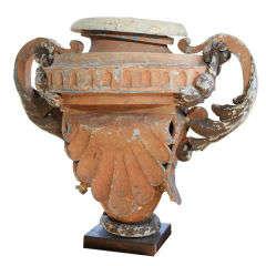 19th Century Zinc Urn