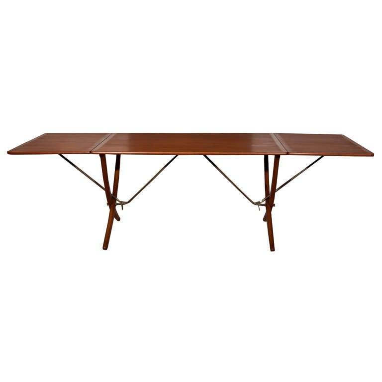 Hans Wegner Drop-Leaf Dining Table Model AT-304