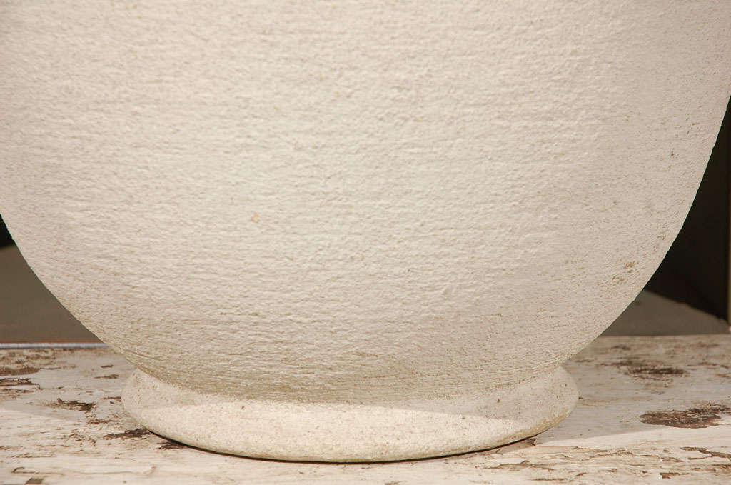 American Round Concrete Urn Planters For Sale