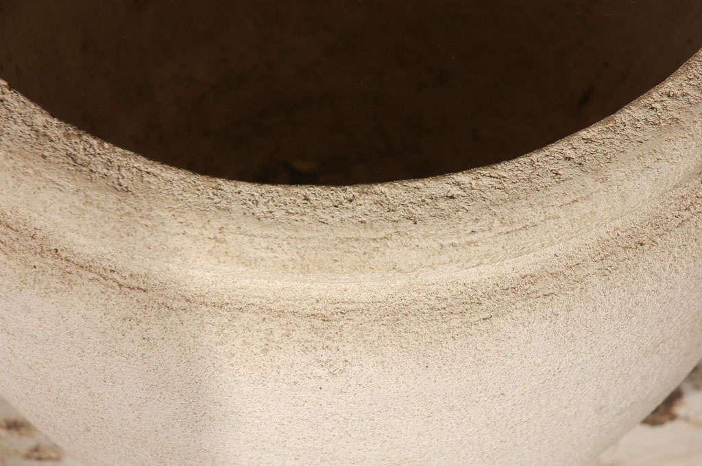 Round Concrete Urn Planters For Sale 1
