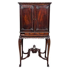 Chippendale Cabinet On Stand