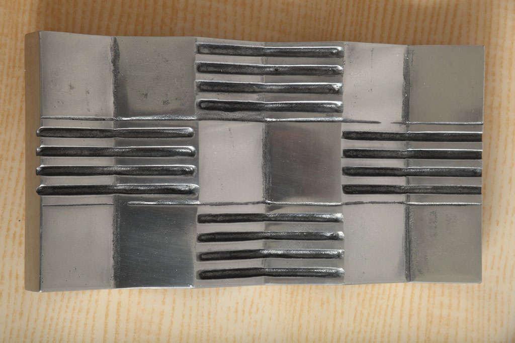 Arnaldo Gamba 'Credo' Decorative Plate For Sale 3