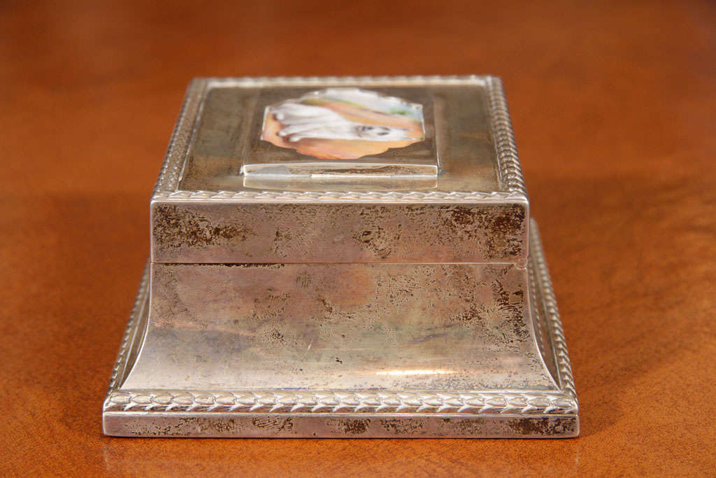 Silver Box In Excellent Condition For Sale In New York, NY