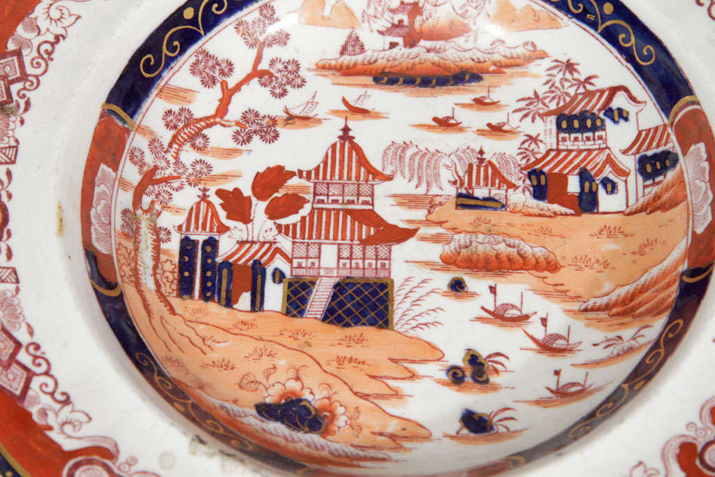 19th Century Masons Ironstone Dinner Service 3