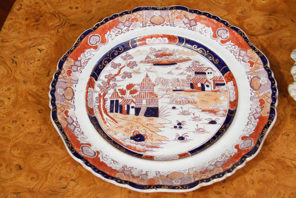 19th Century Masons Ironstone Dinner Service 4
