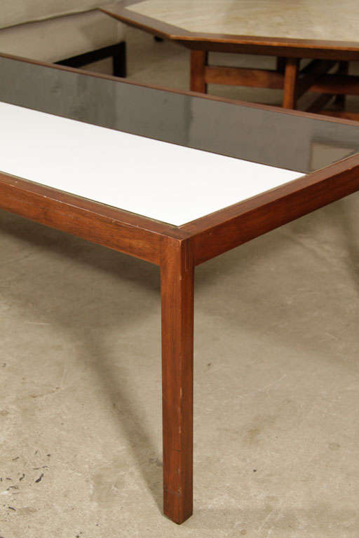 early lewis butler coffee table for knoll at 1stdibs