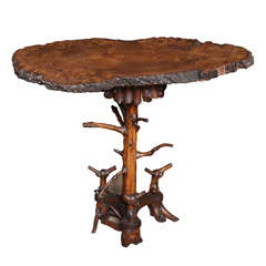 Rustic Lodge Table