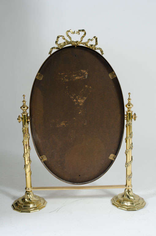Fancy italian looking glass vanity mirror for sale at 1stdibs for Fancy mirrors for sale