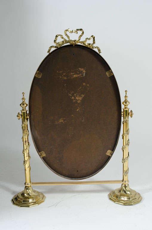Fancy Italian Looking Glass Vanity Mirror For Sale 4