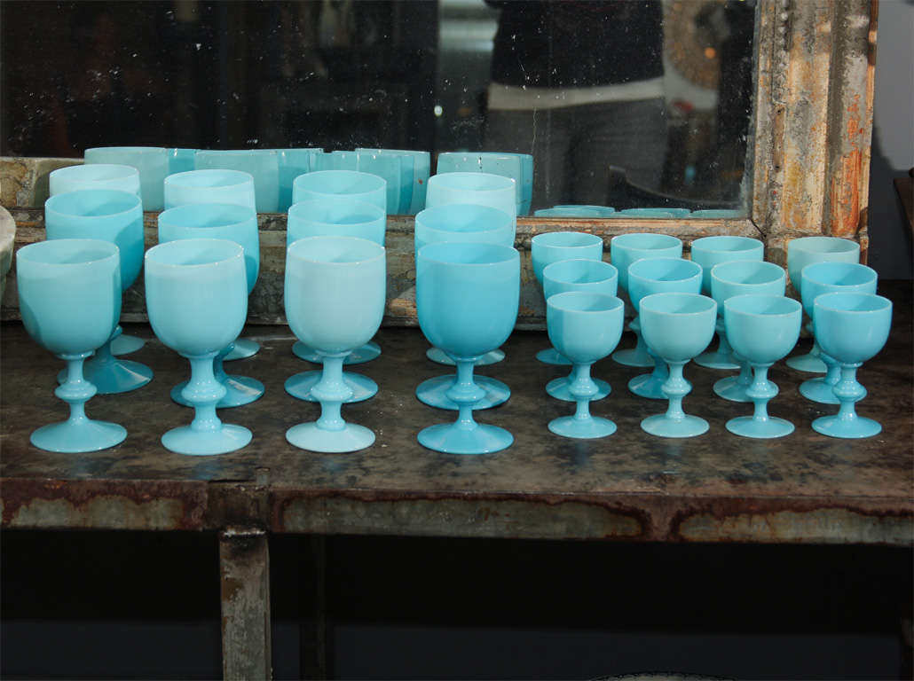 Open stock in assorted sizes available. (Subject to stock on hand) small goblets, champagne, extra large goblets and other shapes and sizes available. Small goblets, champagnes 125. Per stem medium and large goblets 135. Per stem, extra large