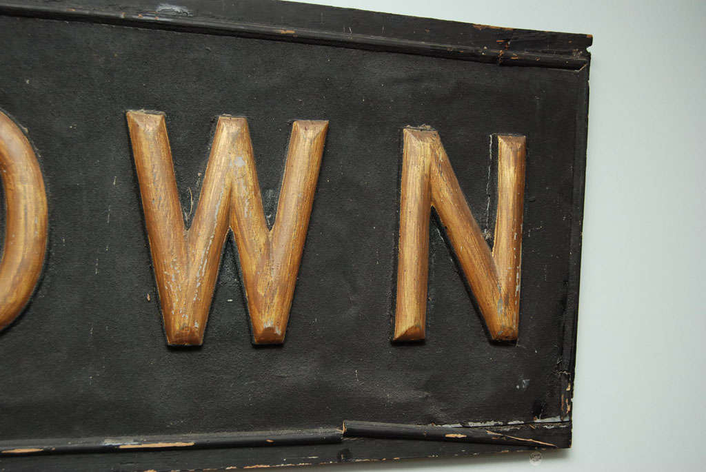 Early 20th Century Sign In Good Condition For Sale In Hudson, NY