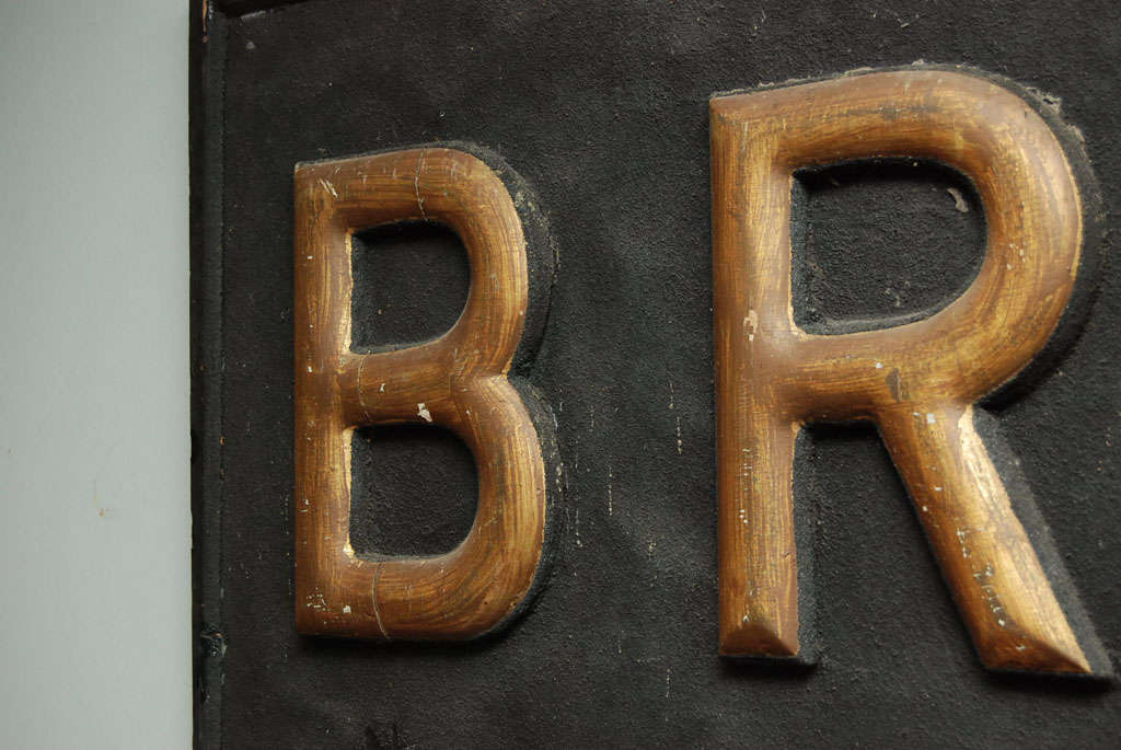 Early 20th Century Sign For Sale 1
