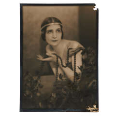 Man Ray, 1920s Photograph of a Russian Dancer, Signed