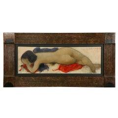 "Alain Bonnefoit ""Sybille"" 1995 Oil on Canvas"