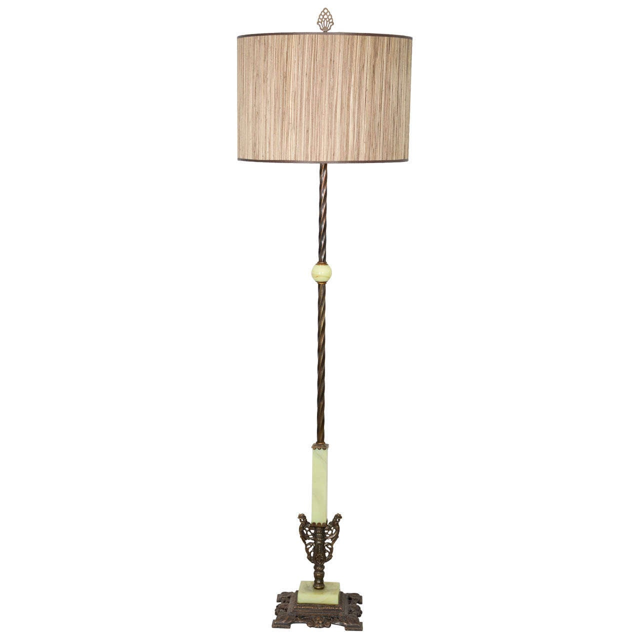 1930 39 s art deco floor lamp at 1stdibs