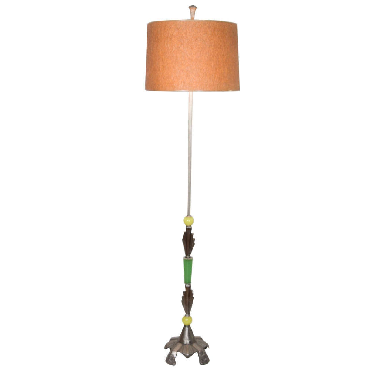 Art Deco Floor Lamp At 1stdibs