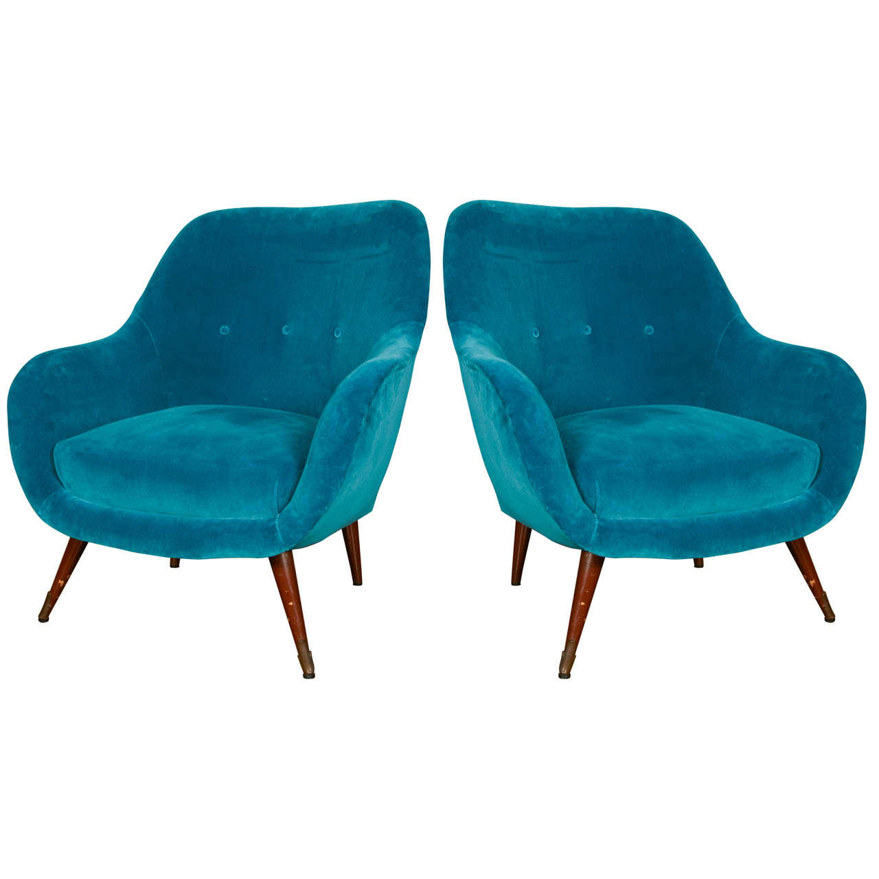 Comfortable arm chairs - Pair Of Comfortable Armchairs 1