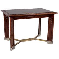 Koloman Moser Attributed Portois & Fix  Vienna Secession Center Table circa 1902