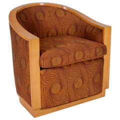 D.I.M. (Decoration Intérieure Moderne) / French Art Deco / Rene Joubert & Philippe Petit Lounge Chair Circa 1930