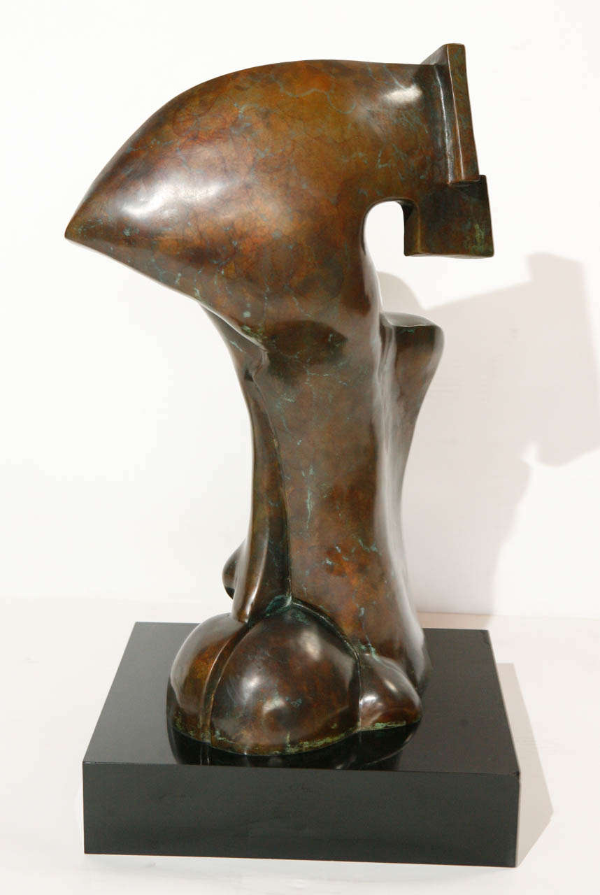 Bronze Sculpture by Sy Rosenwasser In Good Condition For Sale In Cathedral City, CA