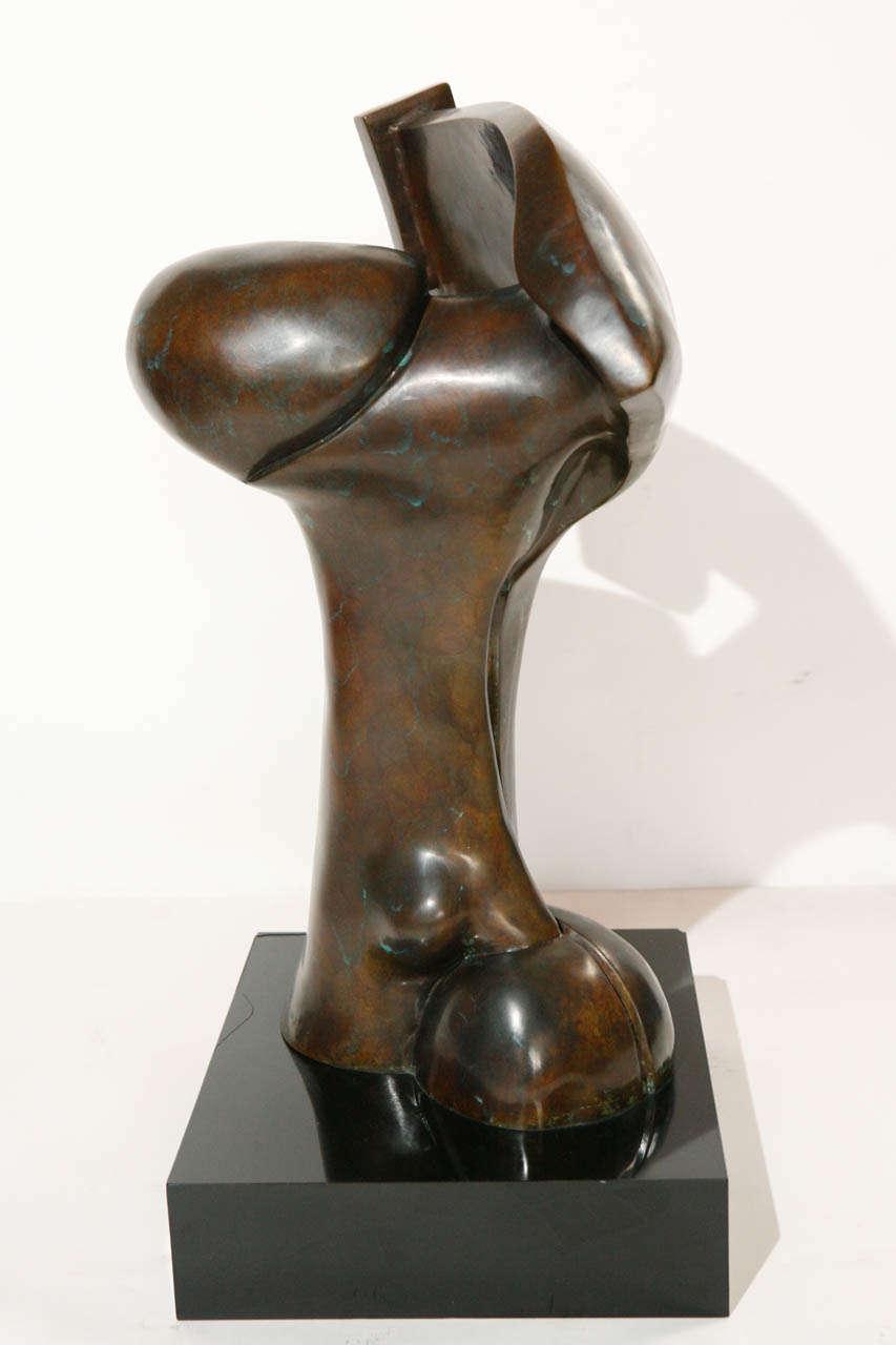 20th Century Bronze Sculpture by Sy Rosenwasser For Sale