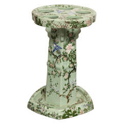 19th Century Majolica Umbrella Stand