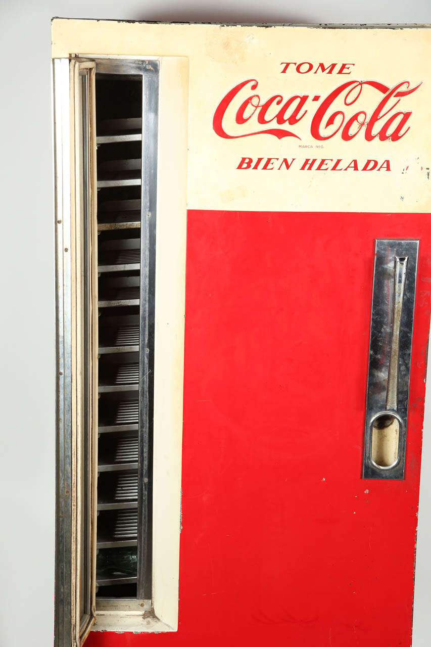 used coca cola machine