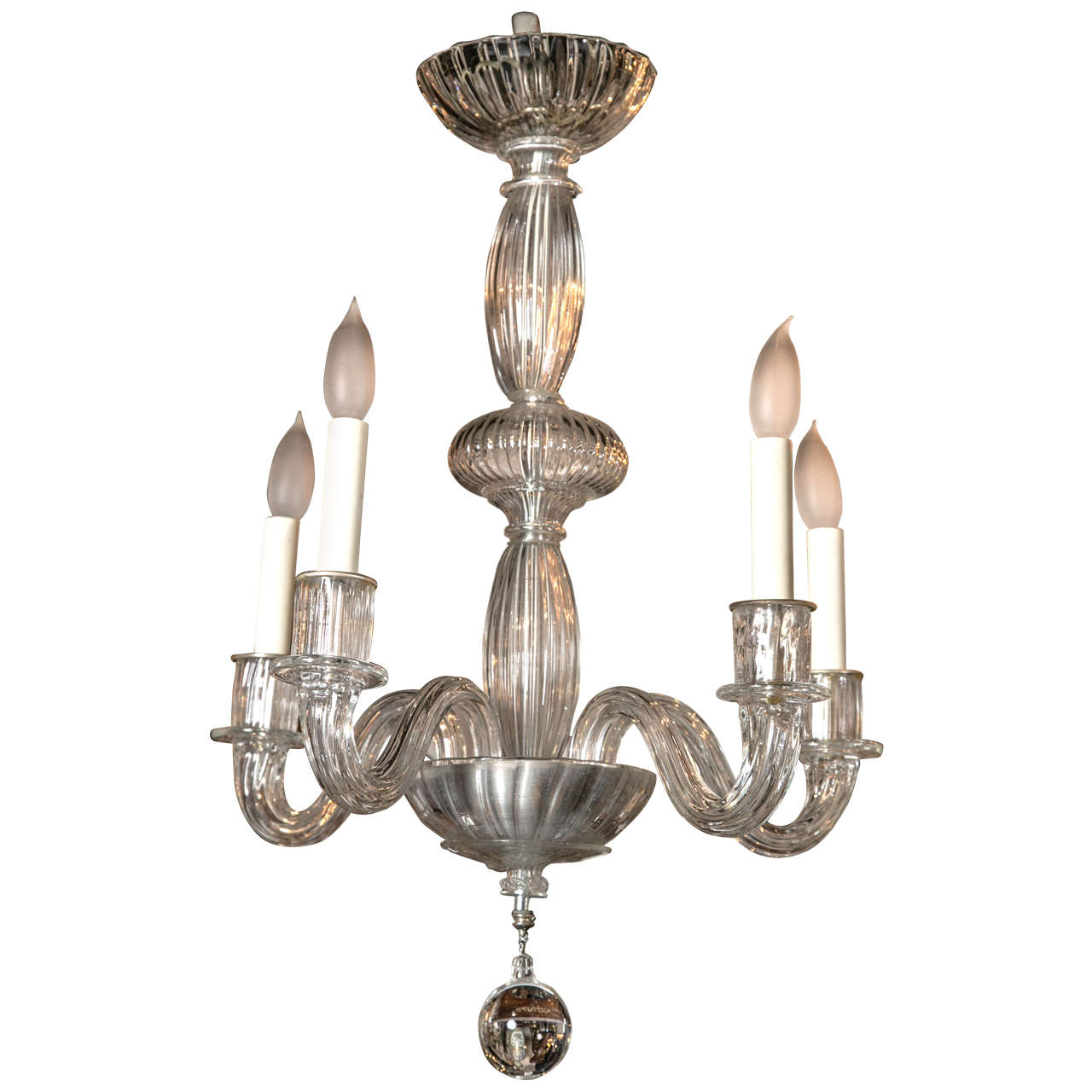 Venetian chandelier circa 1940s for sale at 1stdibs - Circa lighting chandeliers ...