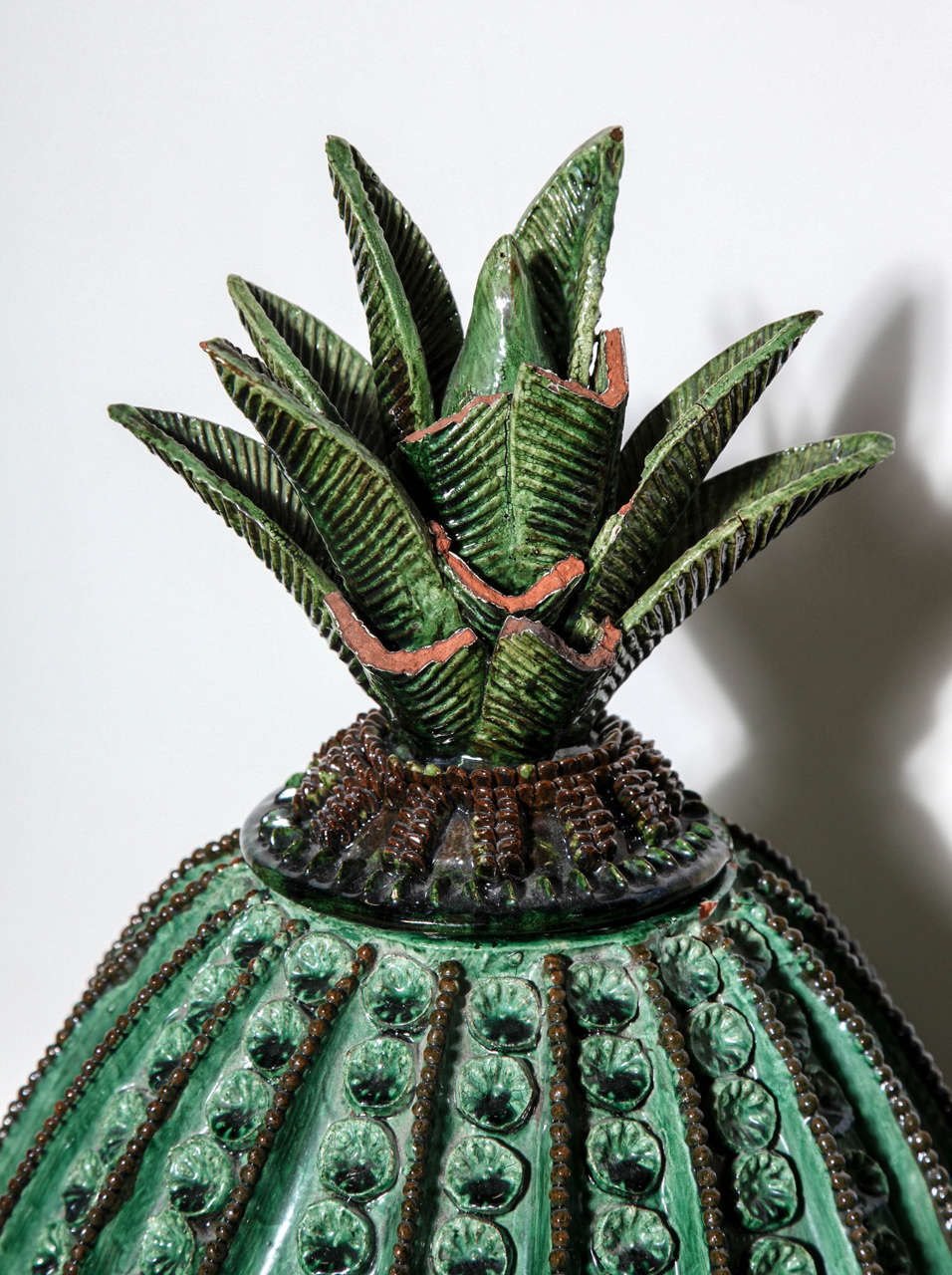 Mexican Handcrafted Pottery Pineapple From Morelia At 1stdibs