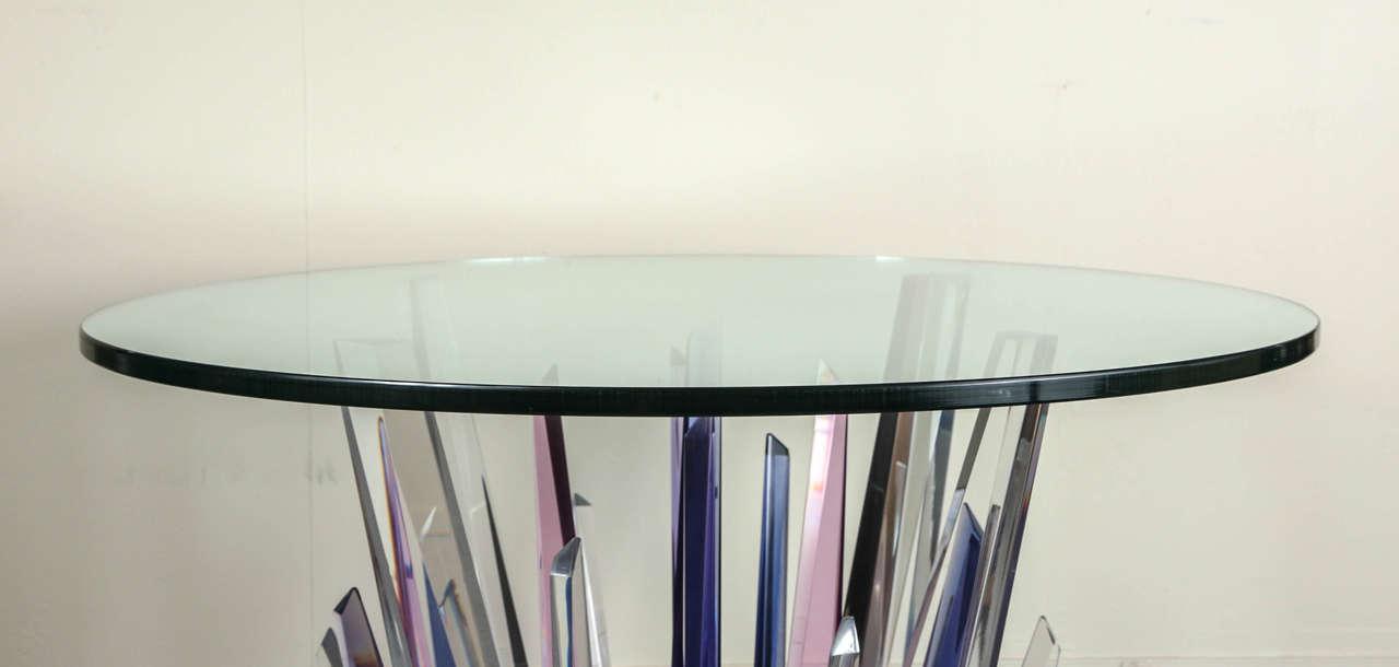 Stunning Stalagmite Lucite Table 3
