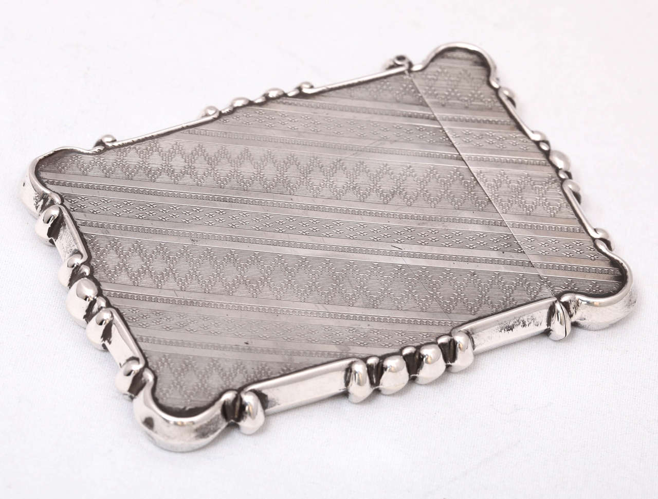 American Coin Silver Business or Calling Card Case For Sale 1
