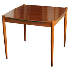 Early 20th Century Beechwood Games Table