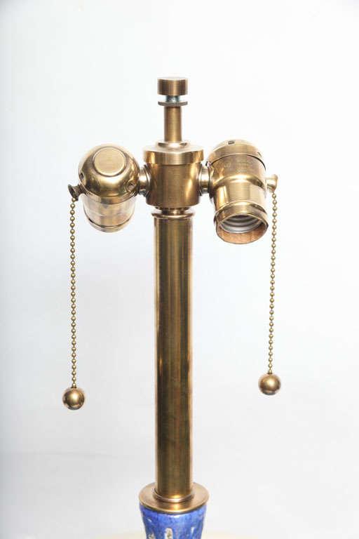 Pair of 1960s Danish Sculptural Ceramic Table Lamps For Sale 1