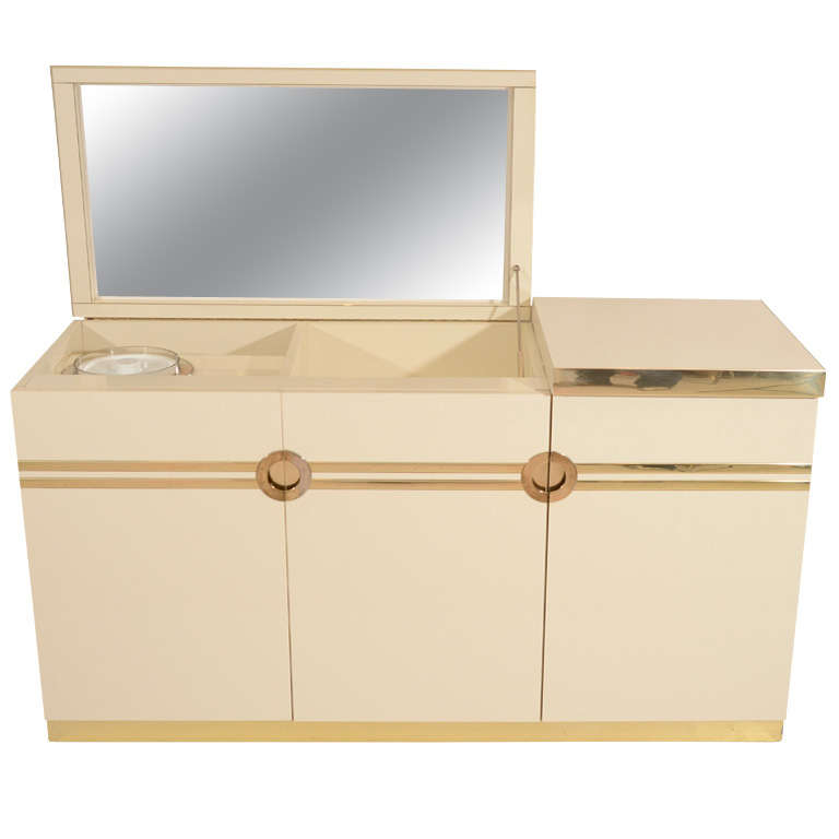 Pierre Cardin Bar Credenza For Sale