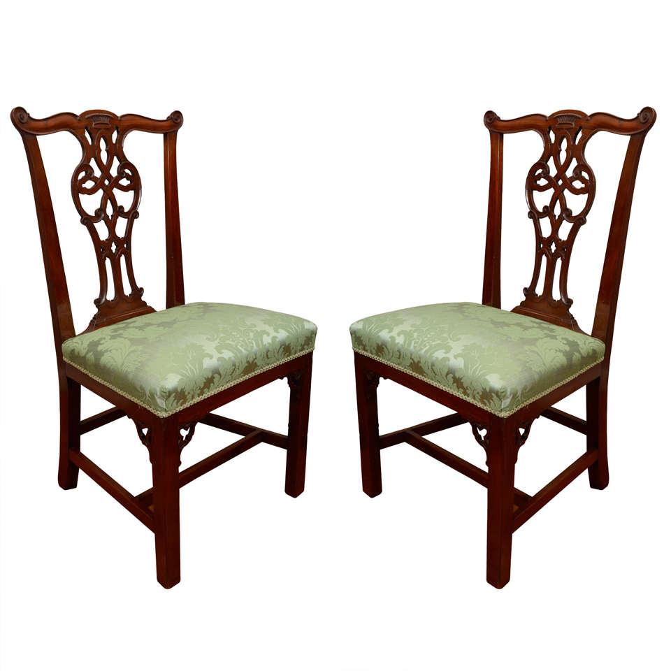 670cfc61dbf45 Set of Six Irish 18th Century Georgian Dining Chairs